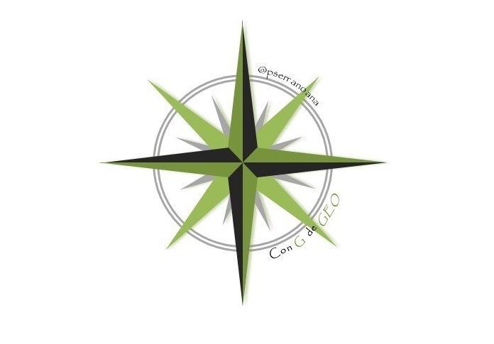 Logo del blog ConGdeGeo de Ana Peña, invitada en el programa 7