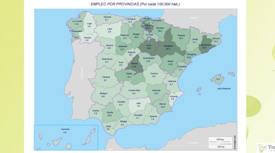Empleo en la España Vaciada