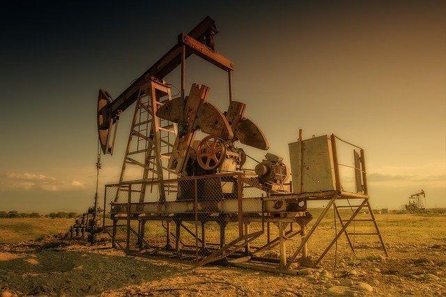 maquinaria extracción de petroleo